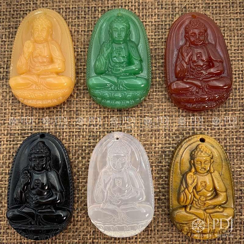 Mặt Phật Bản Mệnh A Di Đà - Tuổi Tuất, Hợi PDJ