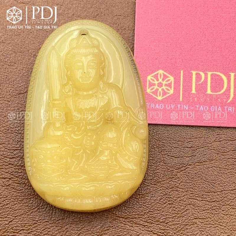 Mặt Phật Bản Mệnh Văn Thù Bồ Tát - Tuổi Mão PDJ