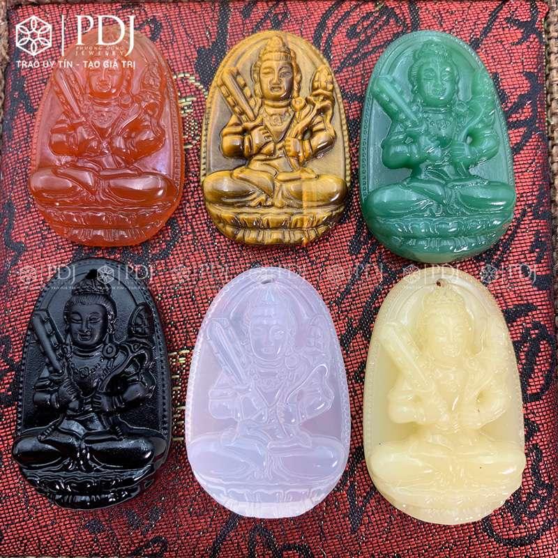 Mặt Phật Bản Mệnh Hư Không Tạng Bồ Tát - Tuổi Sửu, Dần PDJ