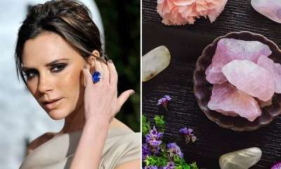 Victoria Beckham là một tín đồ yêu thích thạch anh hồng