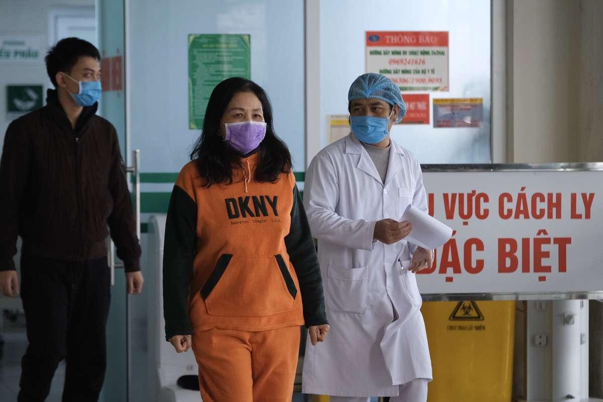Bệnh nhân ở Vĩnh Phúc xuất viện