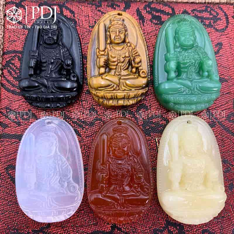 Mặt Phật Bản Mệnh Bất Động Minh Vương - Tuổi Dậu PDJ