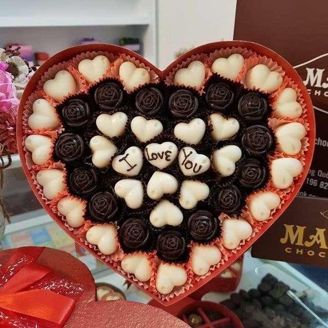 Socola Valentine là một món quà truyền thống không thể thiếu